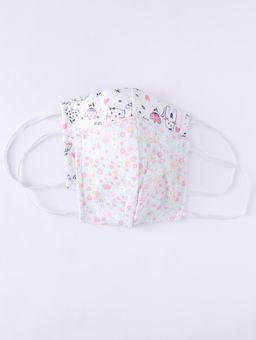 Kit-de-Mascaras-Infantil-Para-Menina---Branco-verde-2-8