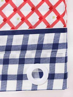 Cortina-Para-Cozinha-Santista-Azul-Marinho-vermelho