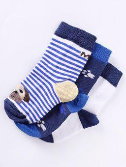 Kit-com-03-Meias-Infantil-Para-Bebe---Azul-Marinho-azul-16-21