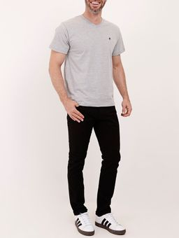 Camiseta-Basica-Manga-Curta-Masculina-Cinza-P
