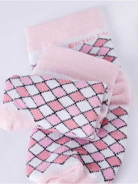 Meia-Infantil-Para-Bebe-Menina---Rosa-rosa-P