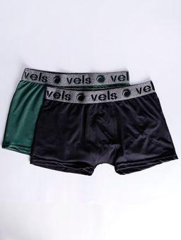 Kit-com-02-Cuecas-Masculina-Vels-Verde-preto-P