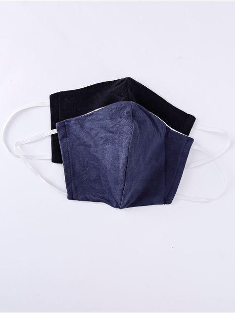 Kit-de-Mascaras-Femininas-Azul-Marinho-preto-P-M