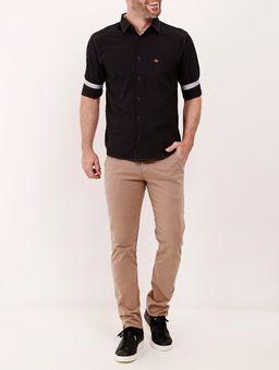 Camisa-Manga-3-4-Masculina-Preto