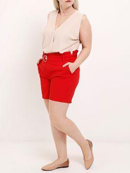 Short-de-Tecido-Plus-Size-Feminino-Vermelho-G2