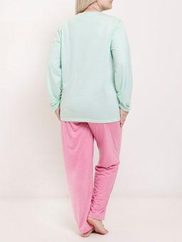 Pijama-Longo-Plus-Size-Feminino-Verde-rosa-G2
