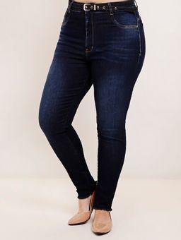Calca-Jeans-com-Cinto-Plus-Size-Feminina-Azul