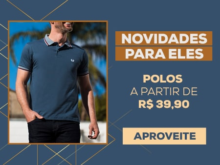 M Polos masculinas