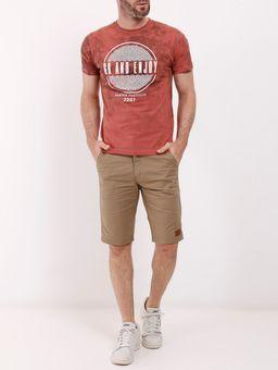 Camiseta-Manga-Curta-Tie-Dye-Masculina-Marrom-P