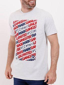 Camiseta-Manga-Curta-Gangster-Masculina-Cinza-M
