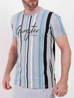Camiseta-Manga-Curta-Gangster-Masculina-Cinza-P