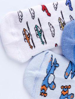Kit-com-03-Meias-Infantil-Para-Bebe-Menino---Branco-azul-20-22