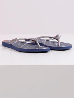 Chinelo-Feminino-Havaianas-Slim-Nautical-Azul-Marinho-prata-33-34
