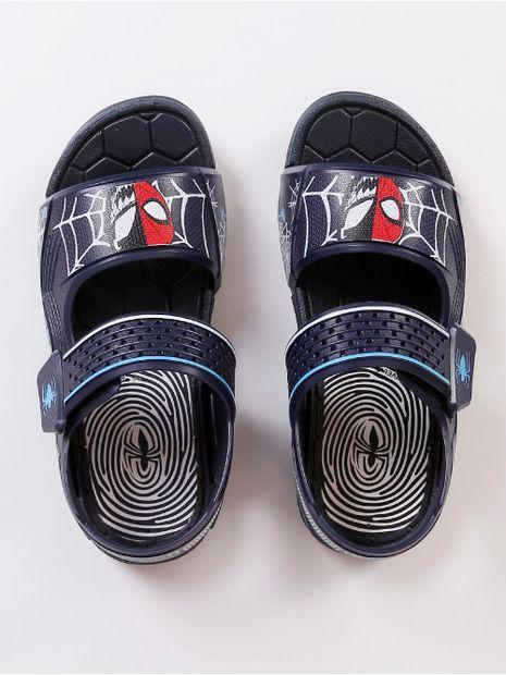 Sandalia-Homem-Aranha-Infantil-Para-Menino---Azul-marinho-25