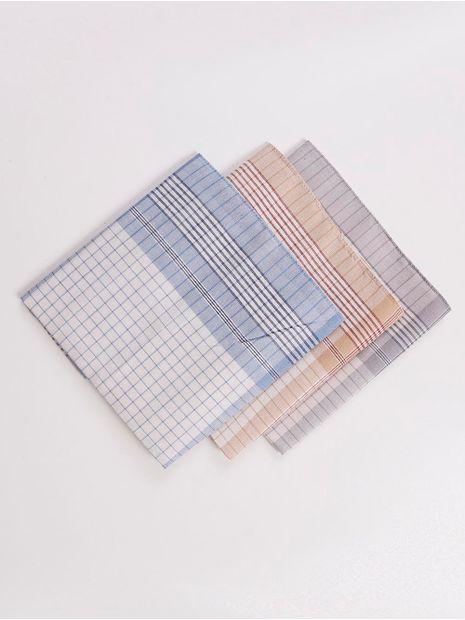 Kit-com-03-Lencos-de-Bolso-Azul-caramelo-cinza