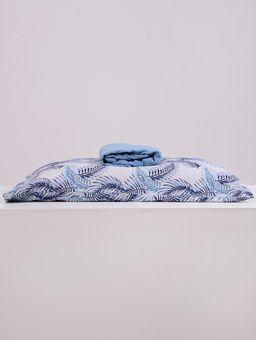 Jogo-de-Lencol-Solteiro-Simples-Portallar-Azul-marinho