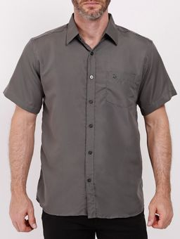 Camisa-Manga-Curta-Amil-Masculina-Chumbo-1