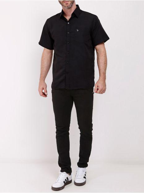 Camisa-Manga-Curta-Amil-Masculina-Preto-1