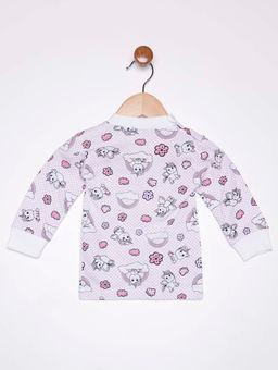 Camiseta-Manga-Longa-Infantil-Para-Bebe---Rosa-lilas-P
