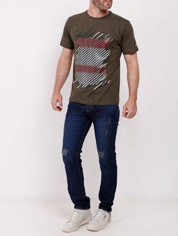 Calca-Jeans-com-Puidos-Vels-Masculina-Azul