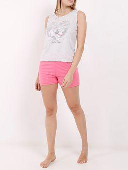 Pijama-Curto-Feminino-Cinza-pink-P