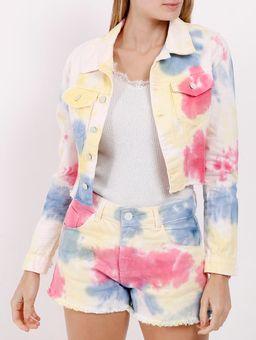 Jaqueta-Jeans-Tie-Dye-Feminina-Branco-multicolorido