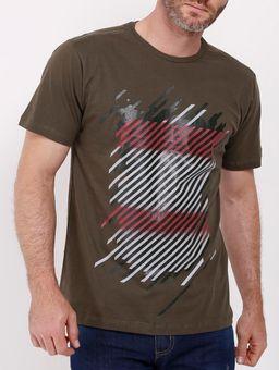 Camiseta-Manga-Curta-Dixie-Masculina-Verde-P