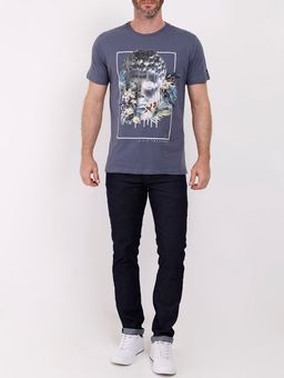Camiseta-Manga-Curta-Dixie-Masculina-Azul-P