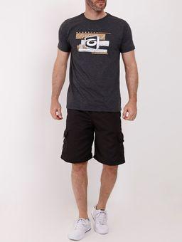 Camiseta-Manga-Curta-Gangster-Masculina-Preto-P
