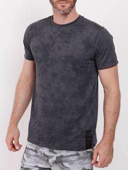 Camiseta-Manga-Curta-Fido-Dido-Masculina-Chumbo-P
