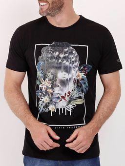 Camiseta-Manga-Curta-Dixie-Masculina-Preto-P