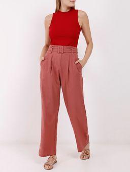 Blusa-Regata-Canelada-Autentique-Feminina-Vermelho