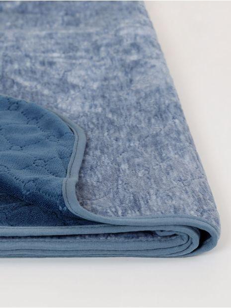 Cobertor-Casal-Plush-Altenburg-Blend-Azul-azul-Escuro