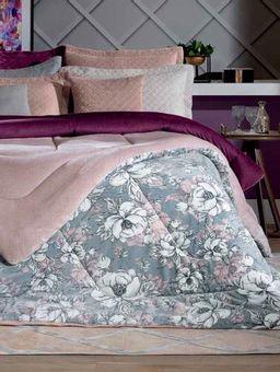 Edredom-Queen-Size-Cinza-rosa
