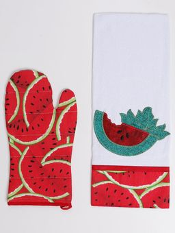 Kit-de-Pano-e-Luva-Branco-vermelho