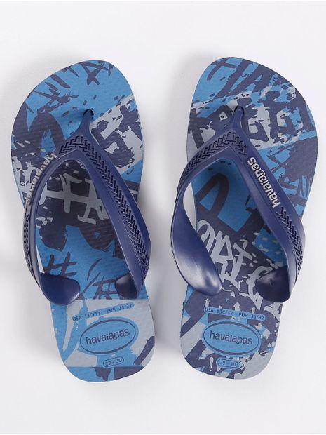Chinelo-Havaianas-Street-Infantil-para-Menino---Azul
