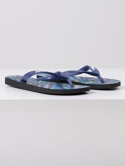 Chinelo-Masculino-Havaianas-Trend-Preto-azul-Marinho-38
