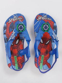 Sandalia-Homem-Aranha-Infantil-Para-Bebe-Menino---Azul-vermelho-19