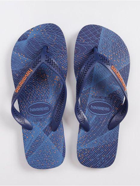 Chinelo-Masculino-Havaianas-Aero-Graphic-Azul-Marinho-laranja-37-38