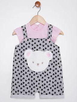 Macacao-Infantil-Para-Bebe-Menina---Rosa-cinza