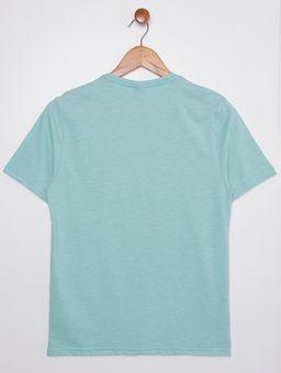 Camiseta-Manga-Curta-Juvenil-Para-Menino---Verde
