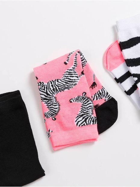 122156-kit-meia-autentique-pink-preto-branco