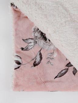 Cobertor-Plush-Sherpa-Casal-Slim-Rosa