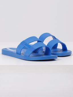 Chinelo-Slide-Ipanema-Cromo-Feminino-Azul