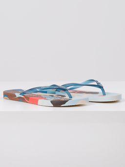 Chinelo-Ipanema-Sol-para-Todas-Feminino-Bege-azul