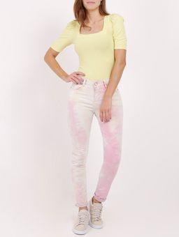 Calca-Sarja-Tie-Dye-Feminina-Rosa-multicolorido