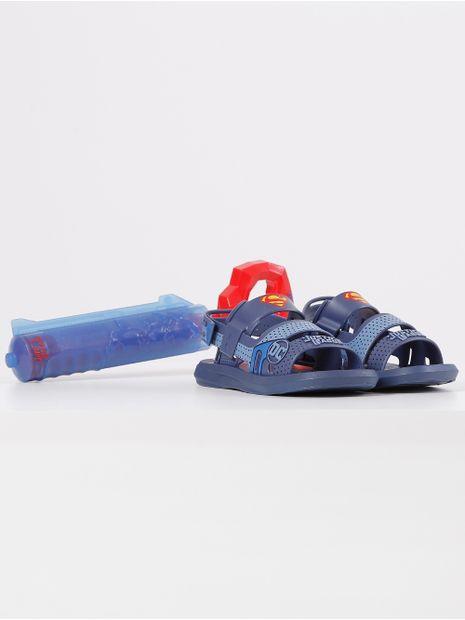 Sandalia-Liga-da-Justica-Infantil-Para-Menino---Azul