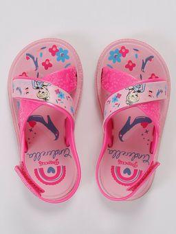 Sandalia-Princesas-Encantadas-Infantil-para-Bebe-Menina---Rosa