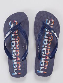 Chinelo-Logomania-Havaianas-Masculino-Azul-Marinho-37-38