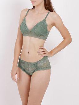 Conjunto-de-Lingerie-Renda-Feminino-Verde